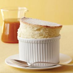 These individual soufflés are easier to make than you might think. To help them rise properly, use upward brush strokes to butter the dishes. Recipe: Lemon Soufflés