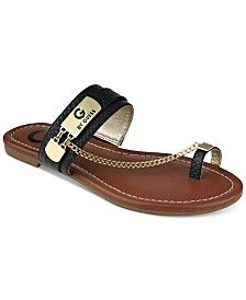 G by GUESS Loren Toe Ring Sandals