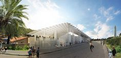 Herzog & de Meuron Completes First Project in Brazil: Morro Arena