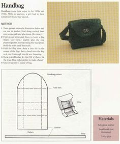 how to: handbag
