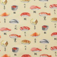 would it be weird to wear sushi?