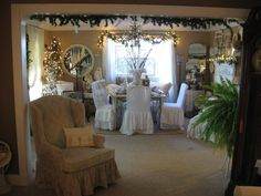 White Christmas Decorations | Ann Perry | Flickr