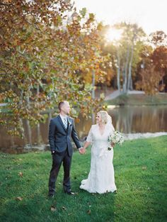 A Vintage-Inspired Shabby Chic Wedding at Cedar Creek Resort in Columbia, Missouri