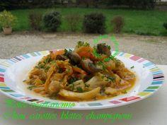 Potée végétarienne Chou, carottes, blettes, champignons Cuisson au Cookéo