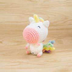 Rainbow Unicorn Amigurumi
