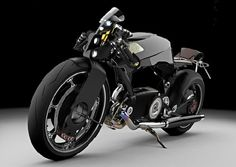 Concept Motorcycle by Paolo De Giusti of Yanko Design