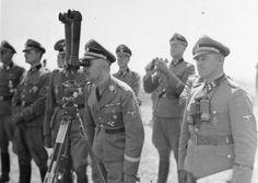 Russland Frontbesuch Heinrich Himmler
