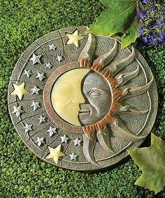 Look what I found on #zulily! Solar-Powered Garden Stone by Zingz & Thingz #zulilyfinds