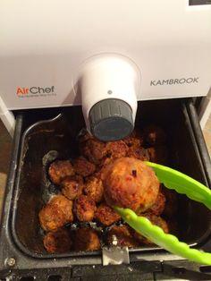Air Chef Air Fryer Oven - Meatballs
