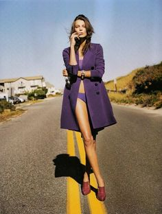 Daria Werbowy by Greg Kadel for Numéro, April 2007