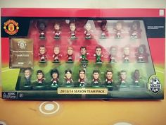 13 / 14 Team Pack.. Moyes Team