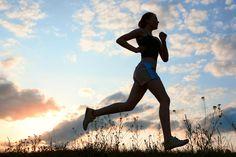 jogging | Jogging silhouette :