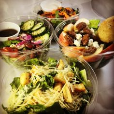 It's a great day for a refreshing salad! Stroll downtown and enjoy our farmers market as well! #theartisanrocks #drfm