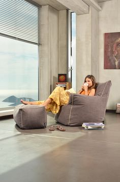 Poufomania follows the changeable of the modern space, providing you the best choices for your home! #beanbags #beanbag #indoor #madeingreece #poufomania Outdoor Bean Bag, Bean Bag Sofa, Modern Spaces, Floor Chair, Choices, Indoor, Furniture, Home Decor, Interior