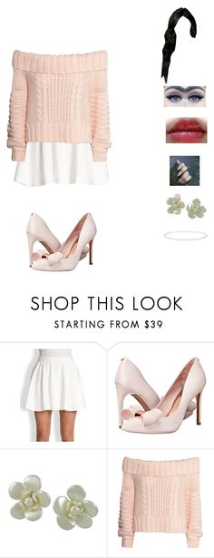 """""""classy in pink"""" by unicorn-923 ❤ liked on Polyvore featuring Alice + Olivia, Ted Baker, Chanel, L'Oréal Paris and H&M"""