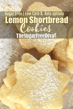 On a Sugar Free Diet? Here are the best Sugar Free Desserts Recipes. These Low Carb, Sugar Free & Keto dessert recipes are healthy but tastes equally good. Sugar Free Deserts, Sugar Free Cookies, Keto Cookies, Homemade Cookies, Sugar Free Fudge, Lemon Sugar Cookies, Ginger Cookies, Sugar Free Baking, Sugar Free Diet