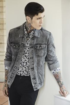 GENERATION OFF LOVE SS14 #men #spring #summer #denim #wash #vintage #allover #mickey #disney