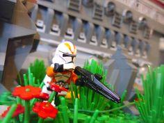 Lego Star Wars The Clone Wars HUGE Clone Base on Corellia MOC