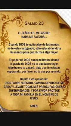 Salmo 23 ... Nada me faltará ...
