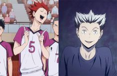 "When I first saw him I was like "" He looks like Bokuto! And he acts like him too!"""