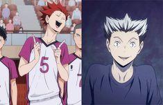 "When I first saw him I was like "" He looks like Bokuto! And he acts like him too!"""
