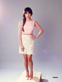 Lea Michele at the Fox 2015 Television Critics Association Summer Press Tour Portraits!