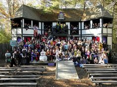 2011 King Richard's Faire cast in Carver, Mass.