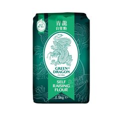 Buy a pack of Plain Wheat Flour online in Ireland. A product from the Chinese brand Green Dragon. Visit the online grocery of Asia Market, the premium Asian supermarket in the country. Dragon Vert, Green Dragon, Asian Grocery, Types Of Flour, Thing 1, Self Rising Flour, Starchy Foods, Rice Flour