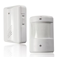 White Wireless Detector Alarm Driveway Patrol Garage Motion Sensor Alarm Infrared Wireless Alert Secure System, Size: x x inch Home Security Alarm, Home Security Tips, Wireless Home Security, Home Security Systems, Security Camera, Alarm Companies, Intruder Alarm, Security Equipment, Alarm System