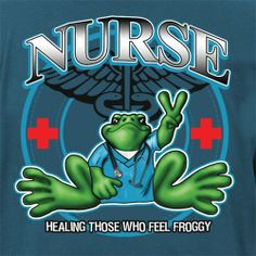 For Those Who Serve - Peace Frogs Adult Nurse Short Sleeve T-Shirt What Is Nursing, Icu Rn, Nurses Prayer, All Nurses, Nurse Love, Future Jobs, When I Grow Up, Nurse Humor, Good Sleep