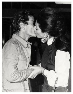 Pier Paolo Pasolini and Maria Callas Photo; Maria Callas, Pier Paolo Pasolini, Heaviest Woman, Guy Bourdin, Opera Singers, Film Director, Artistic Photography, Classical Music, Role Models