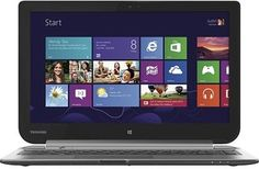 """Toshiba Satellite W35Dt-A3300 Click 2-in-1 13.3"""" Touchscreen Laptop - AMD Dual-Core 