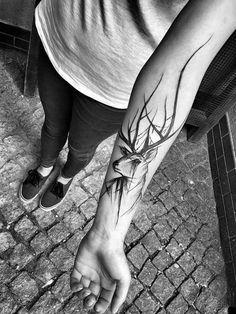 geyik dövmesi modelleri tumblr