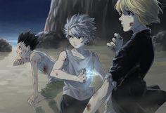 When the squad ready to kick ass Hunter X Hunter, Hunter Anime, City Hunter, Gon Killua, Hisoka, Anime Manga, Anime Guys, Anime Art, Poses