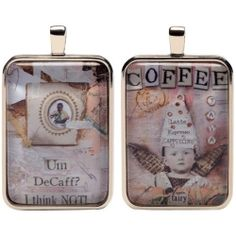 Coffee Fairies Charm - Eye Candy For The Soul by Sally Jean $11.99