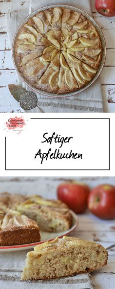 Saftiger Apfelkuchen | Rezept | Backen