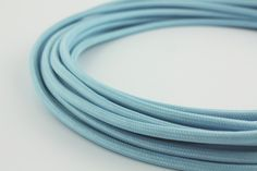Loving Snoerboer: cable by the meter. Will probably go for this light blue version.