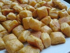 Homemade Cheez-its with five ingredients