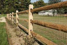 Image result for rural backyard fencing