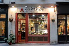 Cheese shop : Androuet seasonal cheese in Paris 7, near Norte dam