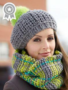 Winter Weather Set   Yarn   Free Knitting Patterns   Crochet Patterns   Yarnspirations