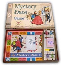 Mystery Date game - -my cousin had this game.  Loved opening the door.