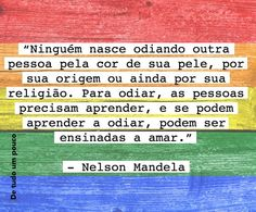 #Mandela #homofobia #preconceito