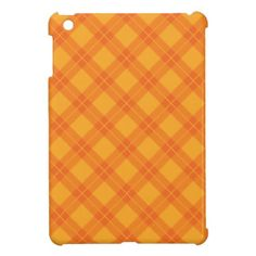 Orange Argyle Pattern iPad Mini Covers #ipadminicover #argyle #argylecover #personalizedgifts #customgifts #customizablegifts #customizableproducts #trendygifts #populargifts  #thebestgift #moderngifts #theperfectgift #kreatr #trendygifts #trendypatterns