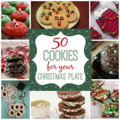 50 Christmas Cookie Recipes...We've put together a collection of quick and easy sweet and savoury Christmas Recipes for you to try. They're perfect for all your festive celebrations and will make lovely homemade gifts too. Be sure to scroll down our page and check out all the ideas. We've included Christmas Brownies, Cupcakes..