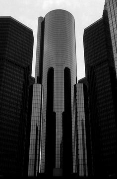 Detroit Renaissance Center. My office was on the top floor in the early 80's. Working there involved an adrenaline filled elevator ride many times daily.