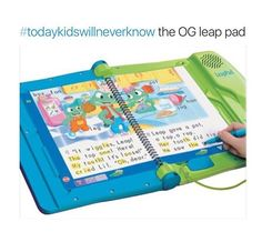 I TOTALLY FORGOT ABOUT THIS! Guys this thing was LEGIT! It was basically an iPad years before they came out xD
