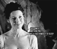 Outlander funny, Claire Fraser (Caitriona Balfe)