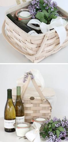 Relaxing Day Gift Basket for Mothers | 40 DIY Gift Basket Ideas for Christmas | Handmade Gift Ideas for Christmas