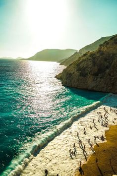 Kaputaş Beach / Turkey (by Murat Boztas). http://calgary.isgreen.ca/food-and-drink/recipes/roasted-lady-fingers-with-baby-corn-and-coconut-vegan/